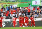 Two VN football teams among most popular in Asia