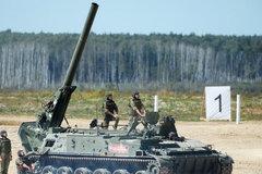Video siêu cối tự hành lớn nhất thế giới của Nga nhả đạn