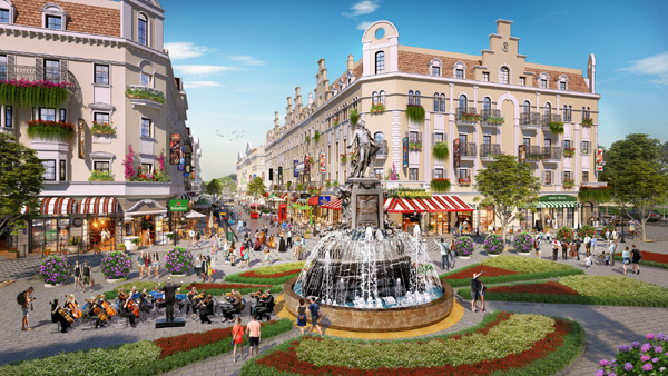 L'Opéra - shophouse kề bên quảng trường biển 13ha ở Bãi Cháy