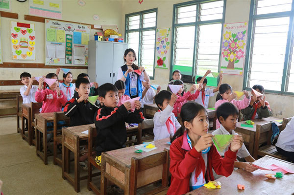 Scholarship foundation set up for rural Vietnamese students