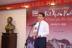 Dự án hồi sinh sông Tô Lịch, xây dựng đường đua F1 giành giải Bùi Xuân Phái