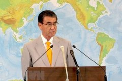 Japanese FM stresses need of upholding law in East Sea