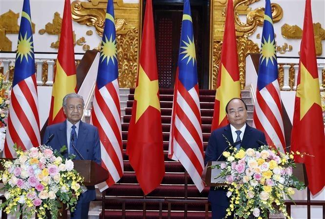 Vietnam, Malaysia ink cooperative deals