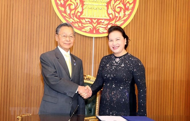 Nguyen Thi Kim Ngan,Speaker of the Thai House of Representatives Chuan,Vietnam politics news,Vietnam breaking news