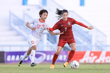Video bàn thắng nữ Việt Nam 1-0 nữ Thái Lan