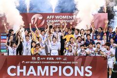 Hạ Thái Lan sau 120 phút, tuyển nữ Việt Nam vô địch Đông Nam Á