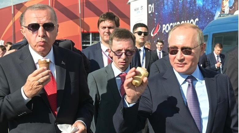 Tổng thống Thổ Nhĩ Kỳ,Tổng thống Nga,Putin,triển lãm hàng không MAKS 2019