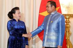 Chủ tịch Quốc hội hội kiến Thủ tướng Thái Lan