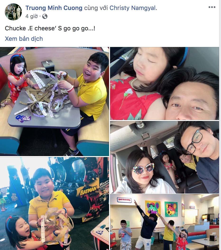 'Jang Dong Gun Việt' lần đầu đăng ảnh hạnh phúc bên vợ con sau tin đồn ly hôn