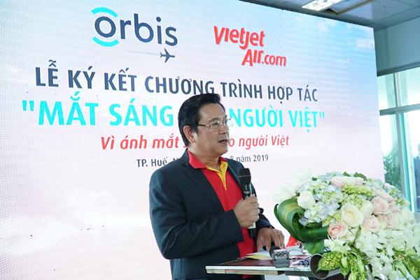 Vietjet đồng hành cùng bệnh viện bay trên không mang 'Mắt sáng cho người Việt'