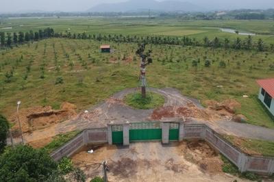 Cận cảnh hai khu đất thu hồi sổ đỏ đứng tên người nhà Giám đốc Sở KHĐT Hà Nội