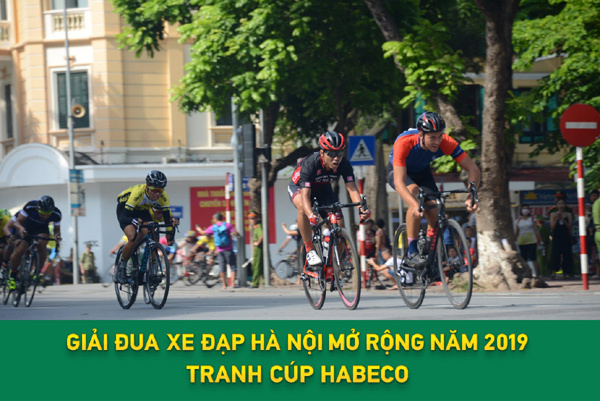 Sắp có Giải đua xe đạp Hà Nội mở rộng 2019 tranh cúp Habeco