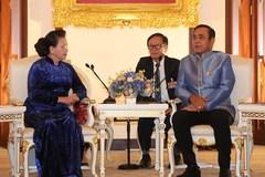 Vietnam's top legislator meets with Thai Prime Minister