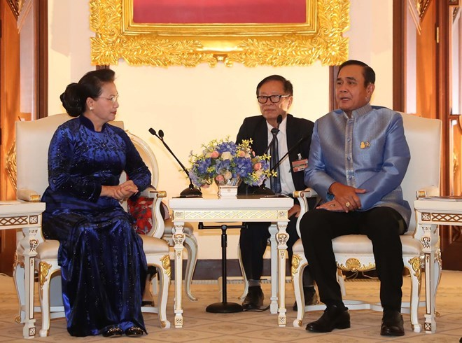 Thai Prime Minister Prayuth Chan-o-cha,National Assembly Chairwoman Nguyen Thi Kim Ngan,Vietnam politics news,Vietnam breaking news,politic news
