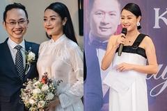 MC Phí Linh: Chồng nhận 'hạnh phúc nhất thế giới' khi biết tôi có bầu