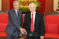 Tổng bí thư, Chủ tịch nước tiếp Thủ tướng Malaysia