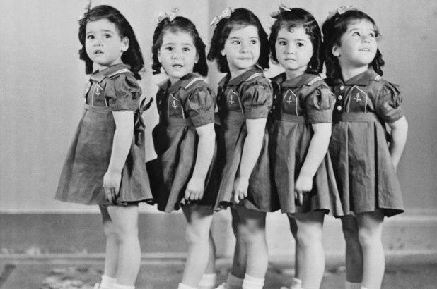 Cuộc đời bất hạnh của chị em sinh 5 nổi tiếng thế giới