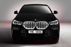 BMW X6 bản đặc biệt sở hữu màu sơn đen nhất thế giới