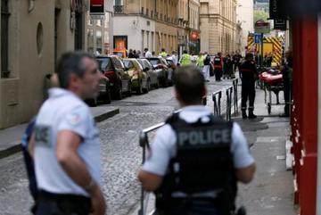 Nổ ở tòa nhà công ty Pháp, nhiều người bị thương