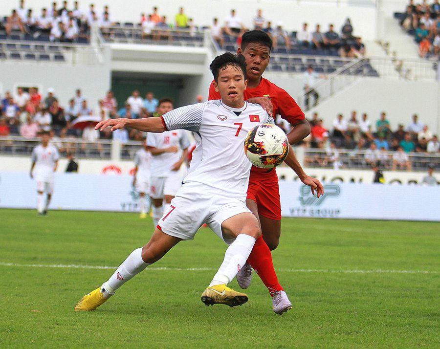 Hạ Myanmar, U15 Việt Nam tranh ngôi vô địch với U15 Hàn Quốc