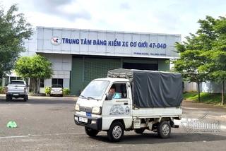 Đăng kiểm ở Đắk Lắk, ô tô tháo phanh vẫn được chứng nhận