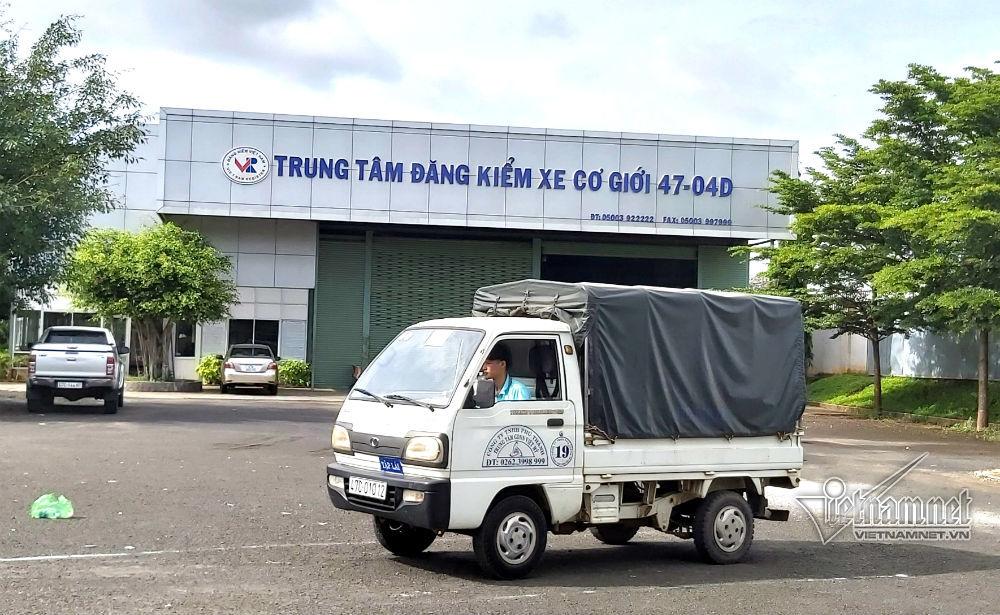 Cục Đăng kiểm Việt Nam,Đắk Lắk,đăng kiểm ô tô
