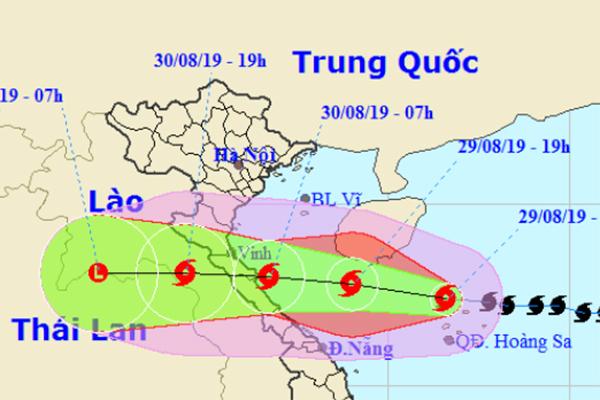 Bão số 4 tăng tốc, sáng đến trưa mai sẽ đổ bộ Nghệ An-Quảng Bình