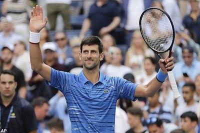 Djokovic theo bước Federer vào vòng 3 US Open