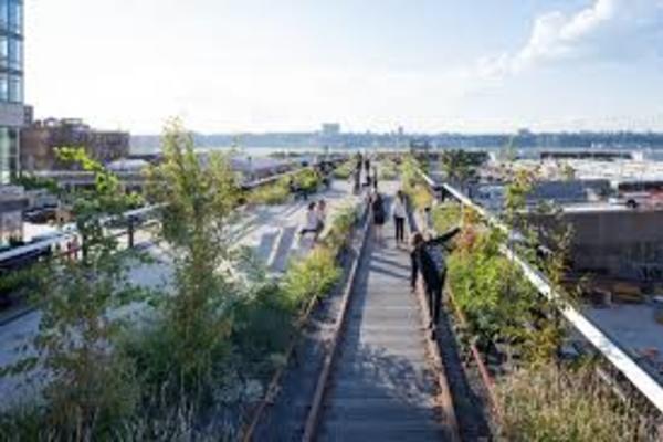 đường trên cao,công viên,đường sắt trên cao