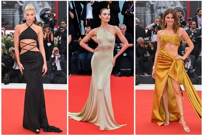 Dàn chân dài Victoria's Secret mặc hở trên thảm đỏ LHP Venice
