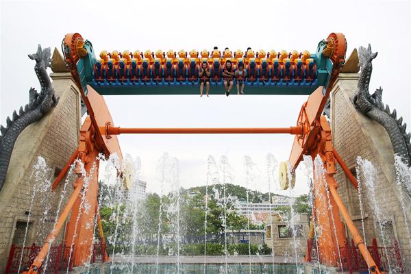 Nghỉ lễ 2/9, về Hạ Long chơi công viên thả ga với 100.000 đồng