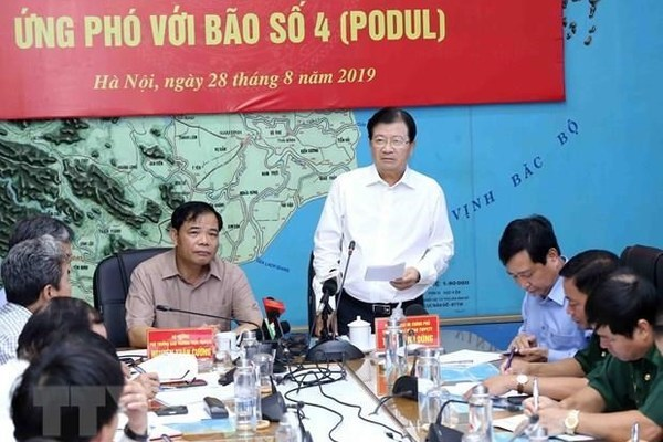 Storm Podul forecast to land in central Vietnam Friday