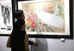 Ink wash painting exhibition celebrates National Day