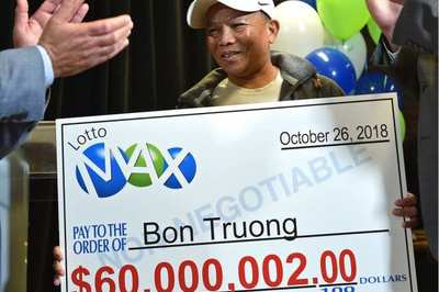 Người đàn ông gốc Việt trúng độc đắc hơn 1.000 tỷ