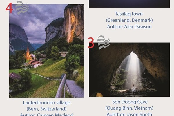Vietnam's spectaculars on world's top photos