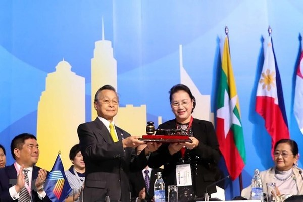 40th AIPA General Assembly concludes, Vietnam becomes Chair