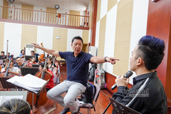 Các ca sĩ hăng say luyện tập cho Điều Còn Mãi 2019