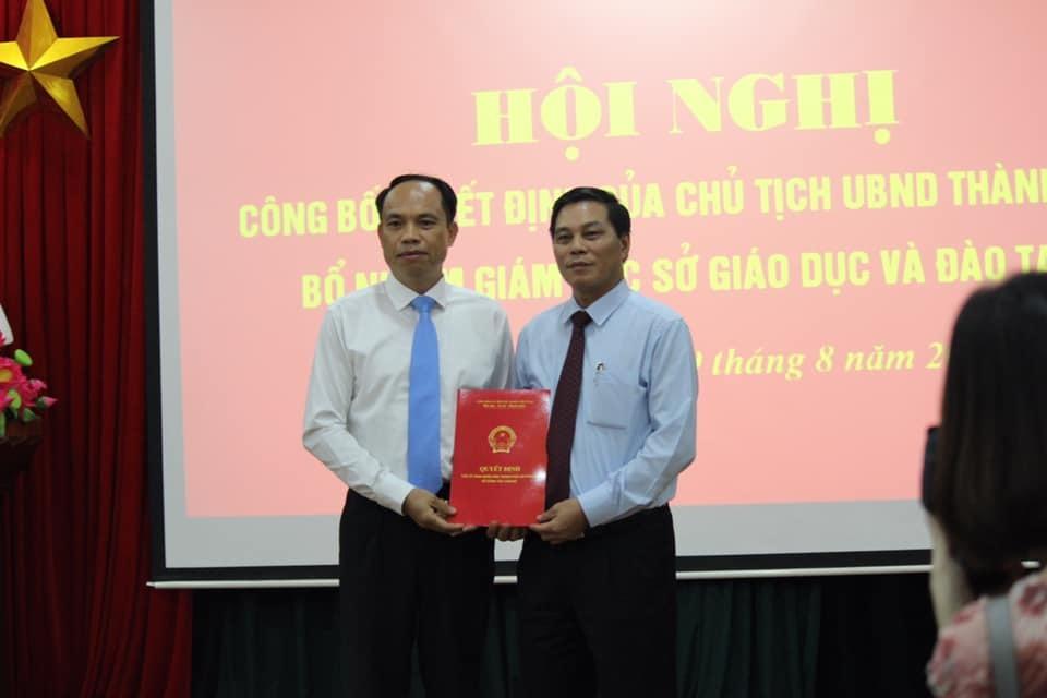 Phó hiệu trưởng ĐH Hàng hải nhận chức Giám đốc Sở GD-ĐT Hải Phòng