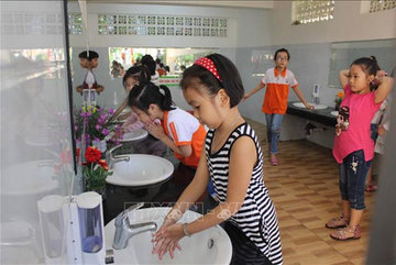 Schools begin clean-up before start of new year