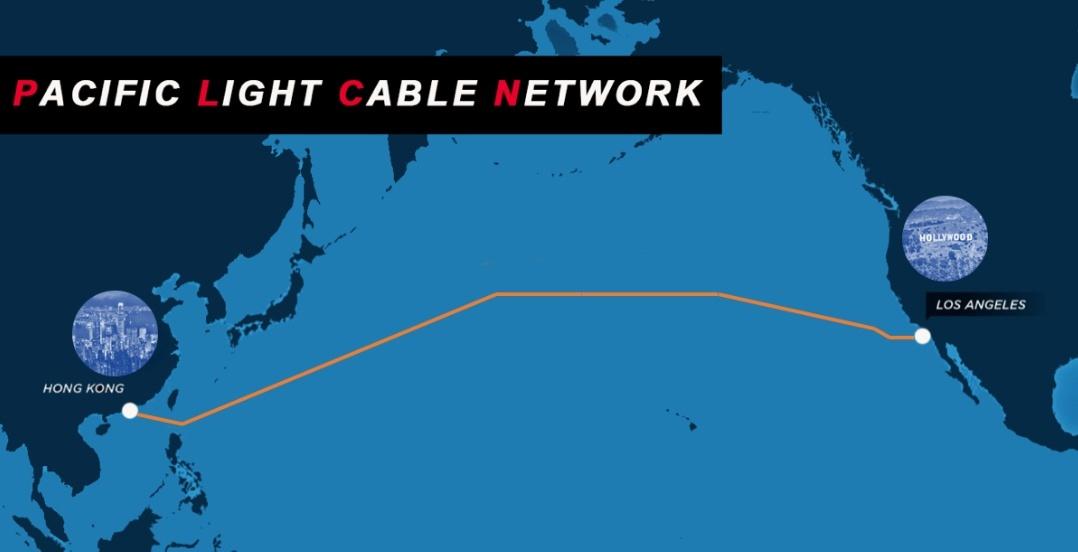 Mỹ cân nhắc chặn tuyến cáp quang biển với Trung Quốc