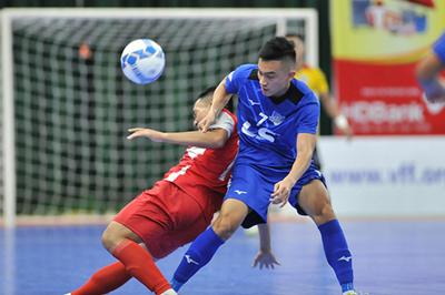 Vòng 10 giải VĐQG Futsal 2019: Thái Sơn Nam lấy ngôi đầu