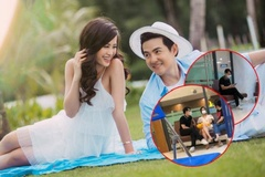 Đông Nhi, Ông Cao Thắng che mặt kín mít tới bệnh viện trước đám cưới