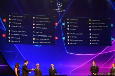 Bốc thăm C1: Real đụng PSG, Barca vào bảng tử thần