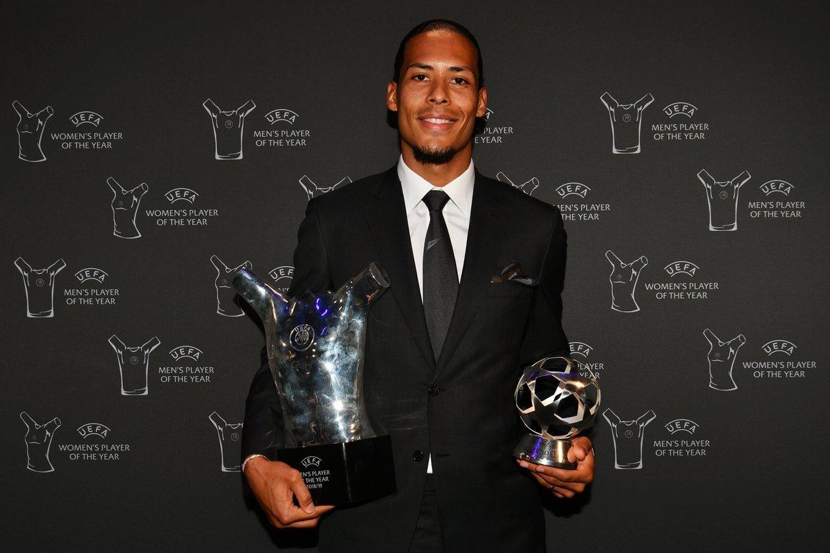 Vượt Ronaldo và Messi, Van Dijk là Cầu thủ xuất sắc nhất C1