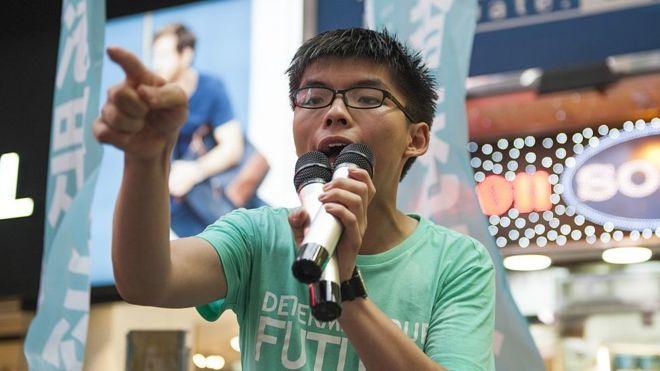 Thủ lĩnh biểu tình ở Hong Kong bị bắt