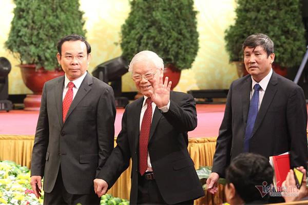 Tổng bí thư, Chủ tịch nước đọc thơ Tố Hữu nghẹn ngào nhớ Bác