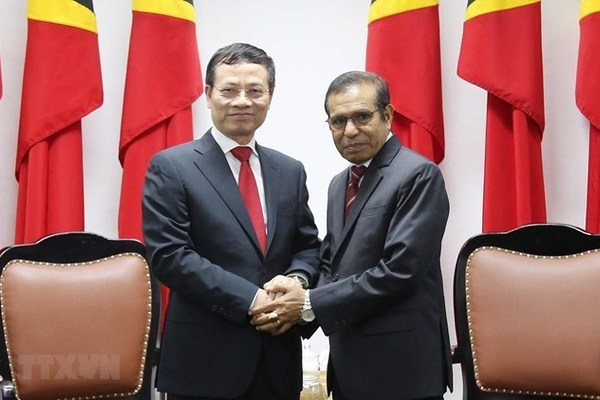 Vietnam, Timor Leste look to promote relations