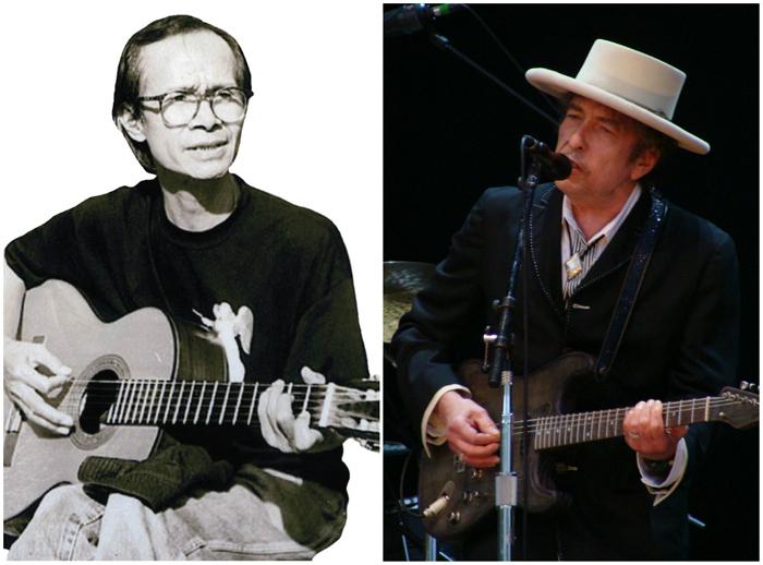 Trịnh Công Sơn,Bob Dylan