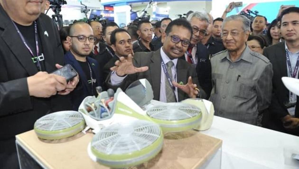 Malaysia sắp hoàn thiện mẫu xe bay đầu tiên của mình