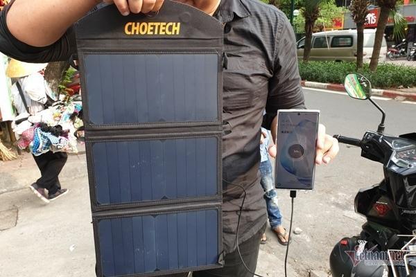 Năng lượng mặt trời,Sạc điện thoại,Smartphone
